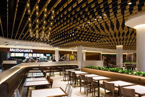 corporate food court design canberra centre corian