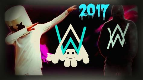 marshmello vs alan walker alan walker vs marshmello 2017 musica electronica 2017
