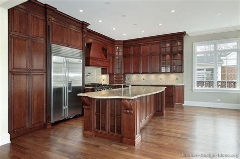 good paint colors with cherry cabinets pictures of kitchens traditional dark wood kitchens