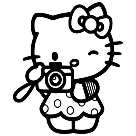 hello kitty baseball coloring pages hello kitty tourist die cut vinyl decal pv920