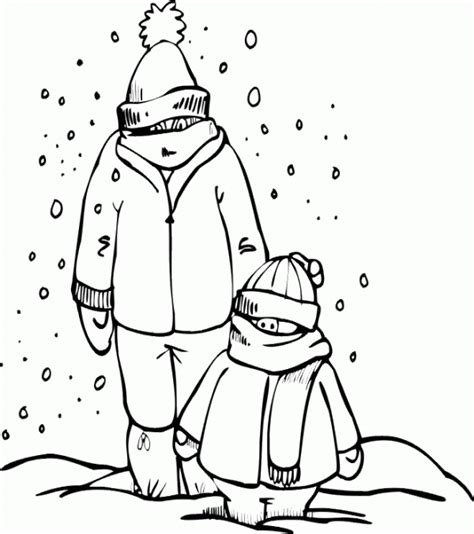 imagenes infantiles invierno para imprimir dibujos de bienvenido invierno para imprimir y pintar