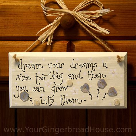 Handmade Sign - your gingerbread house sayings signs handmade wooden