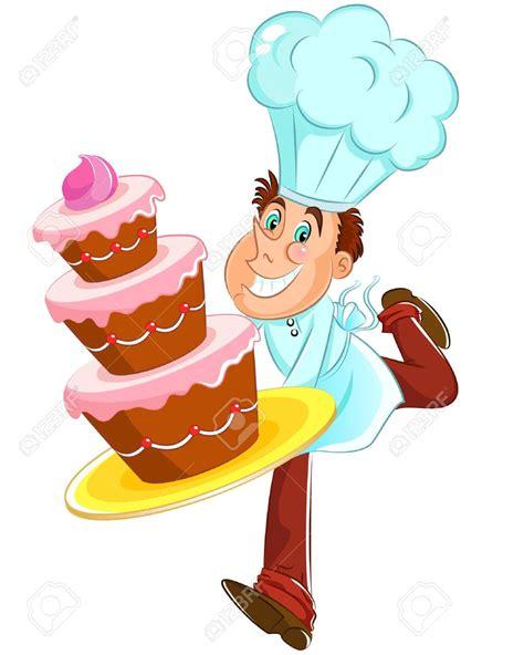clipart torta chef clip cake cliparts