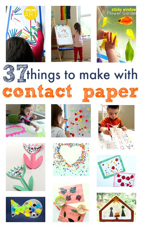 things to make with cards 37 things to make with contact paper no time for flash