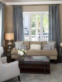 living room white slate blue and brown color