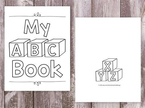 printable alphabet book pdf printable abc book pdf printable pages