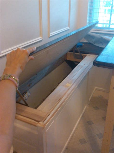 how to build a banquette with storage mom and her drill september 2011