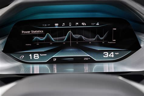 interieur auto virtual dashboard interior concept by audi 3 muscle cars