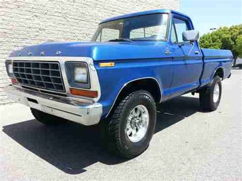 1979 ford f150 4x4 short bed for sale purchase used 1979 ford f150 4x4 short bed rebuilt 351 v8