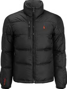 Polo ralph lauren snow puffer jacket black in black for men lyst