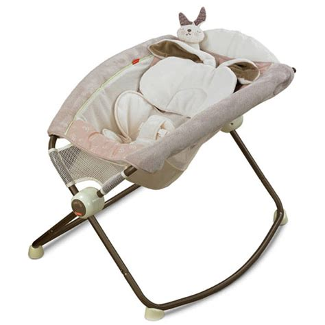 Snugabunny Rock N Play Sleeper by Our Fisher Price Snugabunny Newborn Rock N