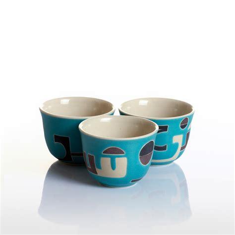 Arabic Set standard arabic coffee cup set graffit script