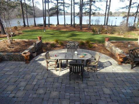 Creek Rock Patio by Rockville Residence Traditional Patio Other Metro