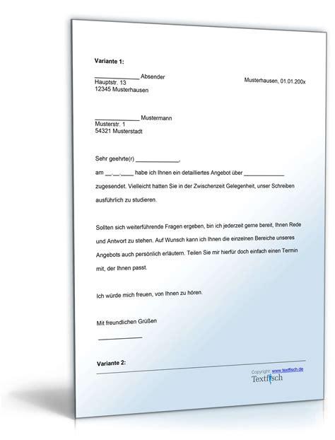 Musterbrief Anschreiben Angebot Archiv Musterbriefe 187 Dokumente Vorlagen