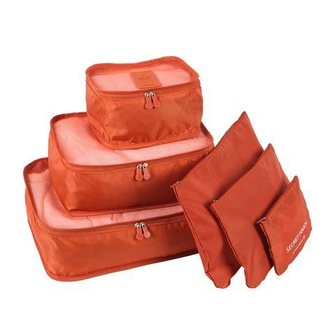 Storage Bag Organizer Bag Clothes Organizer 6pcs clothes storage bags cube travel home clothing