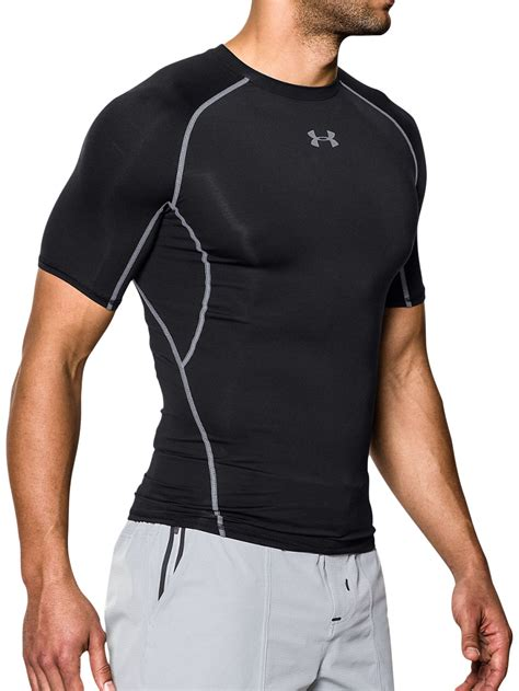 buy armour heatgear armour compression t shirt black