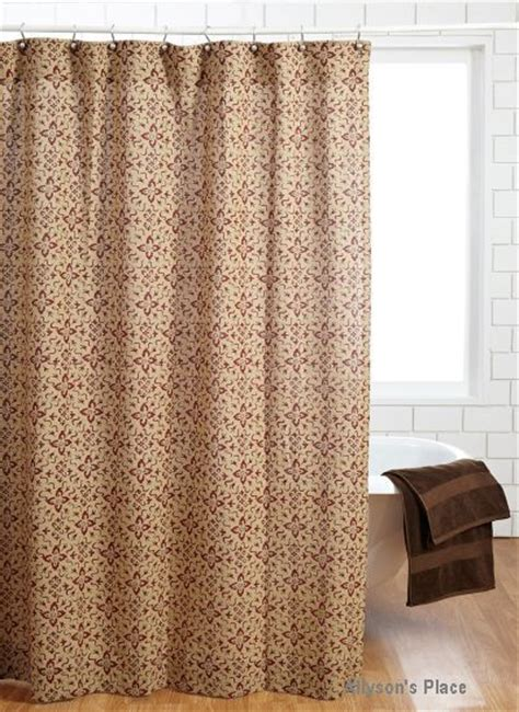 Burlap Country Curtains 10 Best Images About Primitive Shower Curtains On