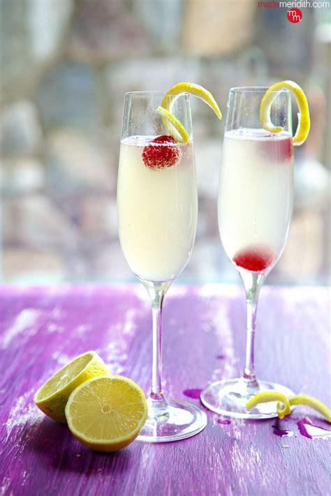 french 75 recipe french 75 cocktail french 75 and recipes with lemon on