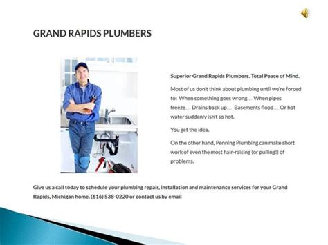 Grand Rapids Plumbing Services by Plumbers In Grand Rapids Mi Authorstream
