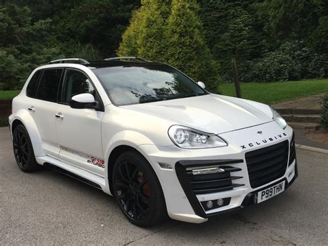widebody porsche porsche cayenne xclusive wide kit xclusive customz