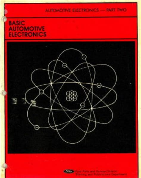 used basic automotive electronics manual part 2