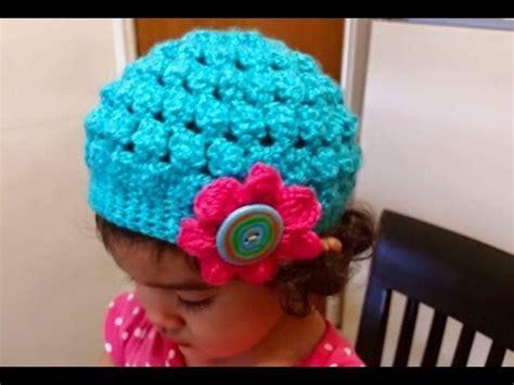 como hacer gorros a crochet para nina como tejer gorro en crochet ganchillo para ni 241 as con