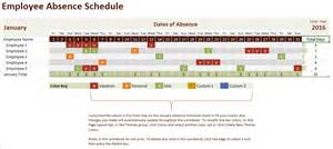Vacation Schedule Template by Vacation Schedule Template 5 Free Templates Schedule