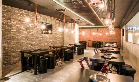 Korean Cafe Interior by 8 E Ght Korean Bbq Shaw Centre Singapore