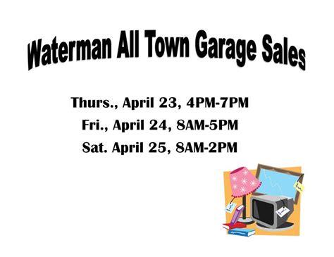 Garage Sales This Weekend Waterman Garage Sales This Weekend Dekalb County