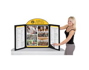 Folding High Top Table Trade Show Displays