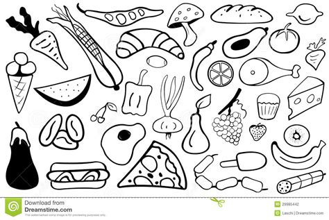 will doodle for food food doodle stock vector illustration of cherry