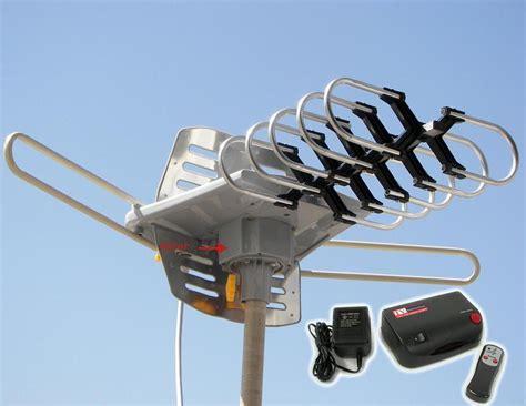 long range digital oudoor power amplified hdtv hd indoor outdoor tv antenna ebay
