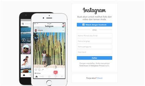 cara membuat instagram lewat web cara upload foto dan video di instagram lewat web
