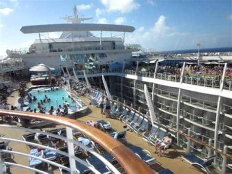 best deck on of the seas oasis of the seas top deck pools april 23 2011 avi