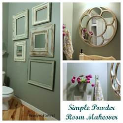 room makeover ideas powder room take two 2nd budget makeover reveal the inspired room
