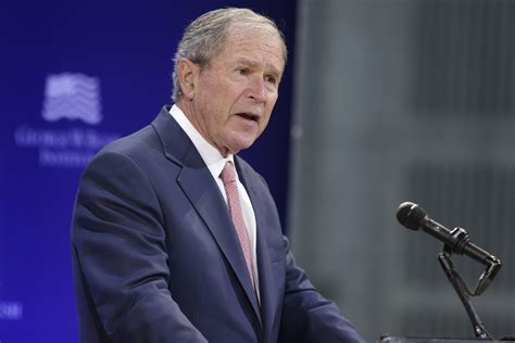 george w bush the george w bush presidential library and museum george w bush rebukes donald trump on point