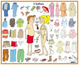 what color are you wearing name list of the clothes in