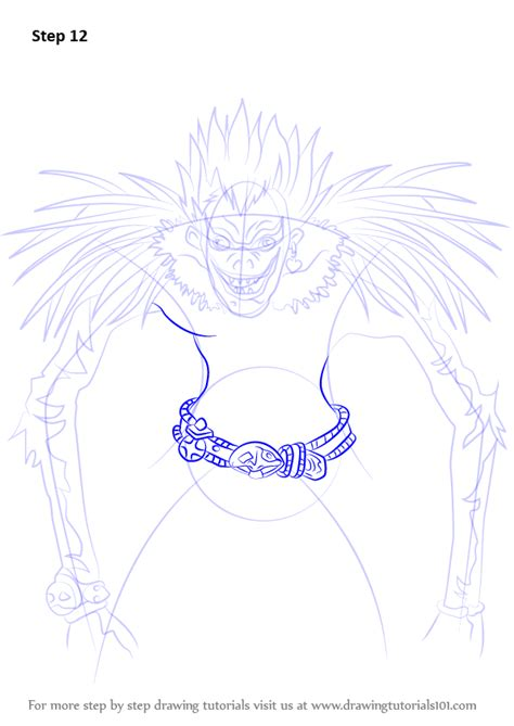 step by step death note hairstyle step by step how to draw ryuk from death note