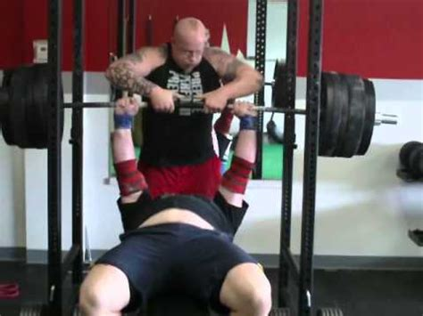 500 pound bench press brett somerville 500 lb narrow grip bench press youtube