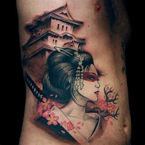 tatuaggi geisha con fiori 25 best ideas about geisha tattoos on geisha