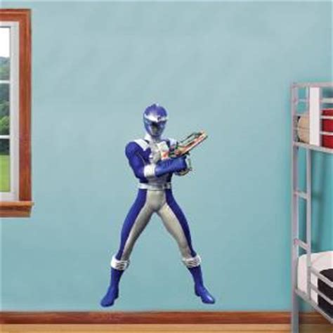 power ranger wall stickers blue power ranger decal removable wall sticker home decor