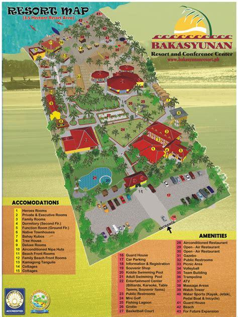 iba zambales resort map bakasyunan resort and conference center