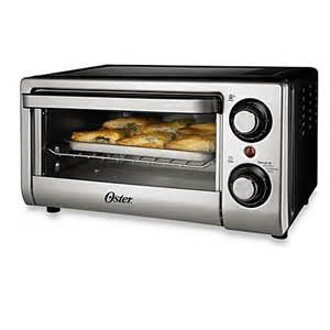 Oster Toaster 4 Slice Oster 174 4 Slice Toaster Oven In Silver Bed Bath Amp Beyond