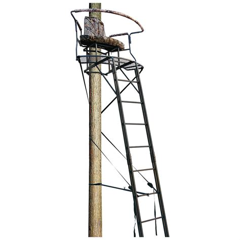 big dog 17 5 stadium series xl 2 man ladder tree stand