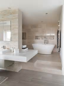 Grey Beige Bathroom Grey And Beige Tones Home Design Ideas Pictures Remodel
