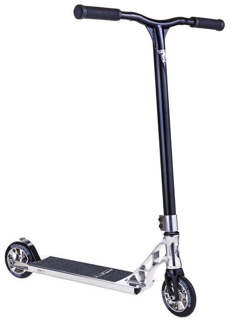 cheap stunt scooter decks grit stunt scooter invader 125 2016 polished black