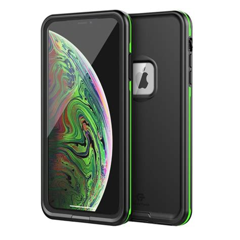 for apple iphone xr xs max waterproof cover fre built in screen protector x ebay