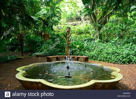 National Tropical Botanical Gardens In Allerton National Tropical Botanical Garden Within Lawa I Stock Photo Royalty Free