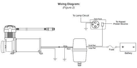 viair pressure switch wiring diagram air compressor