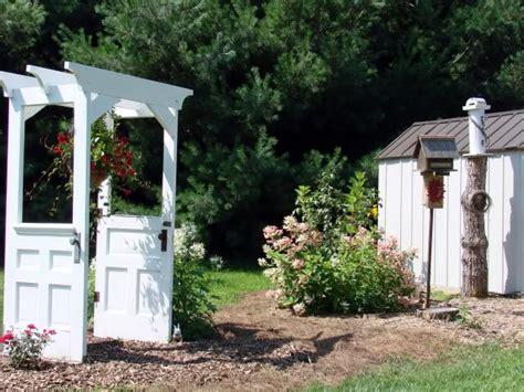 Garden Arbor With Door 11 Gorgeous Garden Arbors Made From Doors